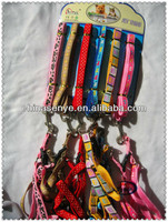 2014 best sale pet collar and leash, dog collar pets accesories with wholesale price made in china