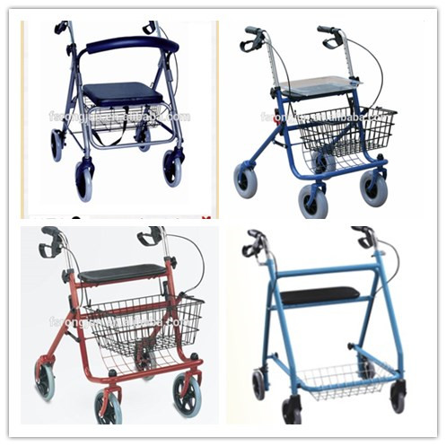 Steel Frame Mobility Delta Rollator - Buy 3 Wheels Rollator,Rollators With  Shopping Bag,Delta Rollator Product on Alibaba com