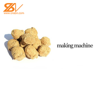 China wholesale Low electric cost 220-400v vegetarian soya meat textured soy protein making machine