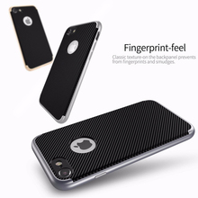 CAFELE 2017 Carbon Fiber Thin luxury fancy cell phone casescarbon fiber cell phone case for iphone 7 7s