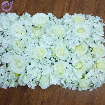 Rh00240 Sfondo Di Nozze Decorazione Bianco Artificiale Della Rosa