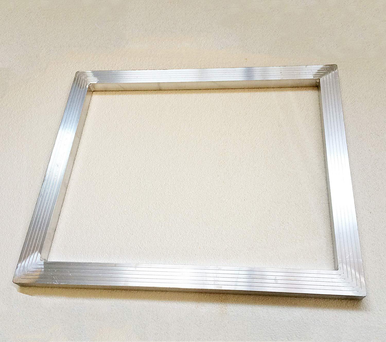 TECHTONGDA Screen Printing Aluminum Frame DIY Screen Frame with No Mesh (16X20 inch (40x50cm))
