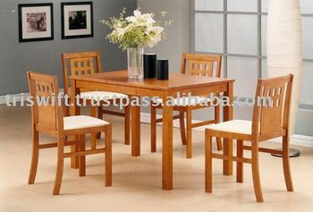 Dining Table And Chairs 1 4 Wooden Chair
