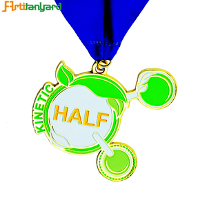 Custom Cheap Alloy School Sports Trophies Embossed Medals