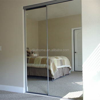 coulissantes en aluminium miroir armoire portes chambre coulissante en aluminium miroir clost portes - Armoire Portes Coulissantes Miroir