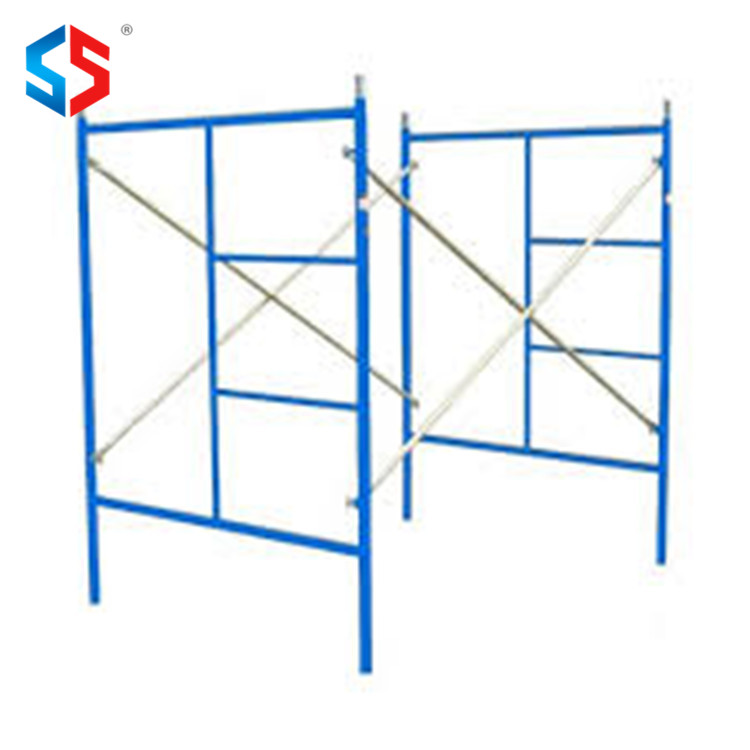 HF-046 Customized Color Metal A Ladder Frame Scaffolding
