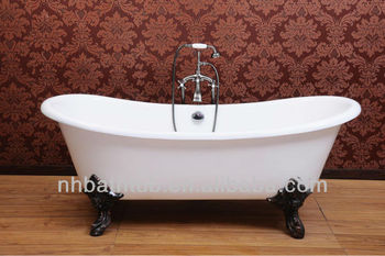 Cast Iron Enamel Bathtub, Soaking Bath, Cheap Bath Tub In China