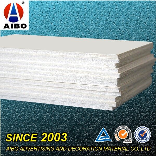 Foshan Aibo 3mm high density Recyclable Non-Toxic Foam Board Printer