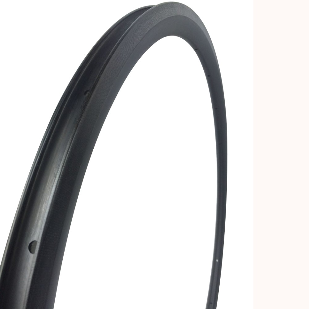 High performance carbon road bicycle rims, super quality 360g clincher 30mm bicycle rims