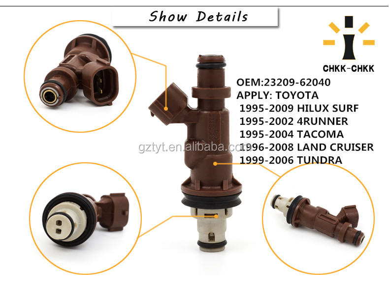 Fuel Injector Nozzle 23209-62040 Cho LAND CRUISER PRADO
