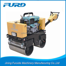 Water cooled diesel motor Double Drum Walk Behind Vibratory Roller(FYL-800CS)