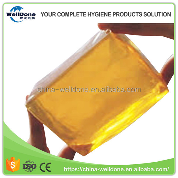 Synthetic Resin Rubber Hot Melt Adhesive Glue for Baby Diaper Under Pad