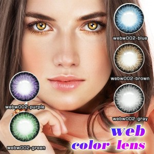 wholesale color contact lenses soft cheap funny colored beauty contacts