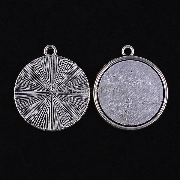 30 пк 20 мм круг античное серебро камея кабошон база установка подвески поиск кабошон своими руками ювелирные изделия поиск