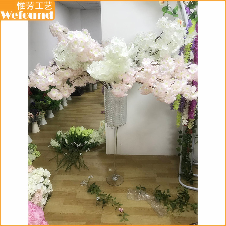 WF-302 High Quality Artificial Cherry Blossom Branch Wholesale