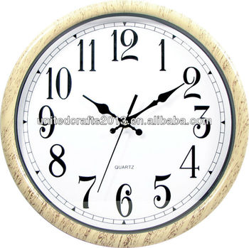 Bright Round Ajanta Wall Clock Models