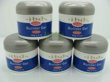 10pcs lot 2oz Clear pink white UV Gel Nail Art Builder Set Glue False Tips Free
