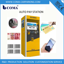 Security Payments Parking Electronic Car parking Machine self-service