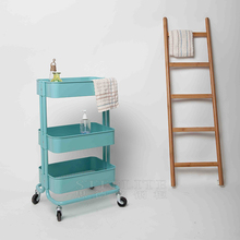 Cheap price homeful kitchen trolley with 4 trolley wheels