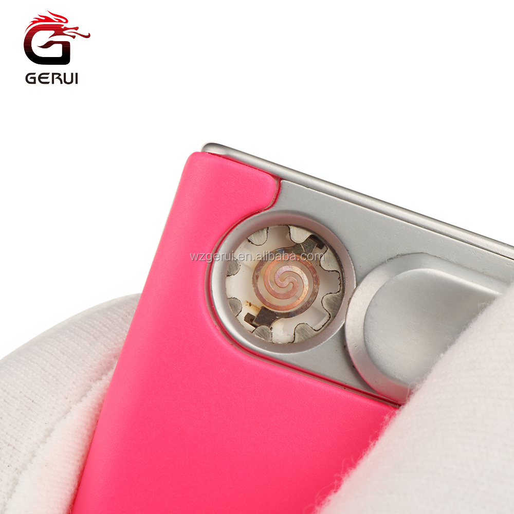 Hot Selling Convenient Colorful Rechargeable Usb Electric Lighter