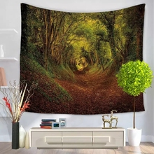 Polyester Custom Made Digital Print Wall Hanging Tapestry