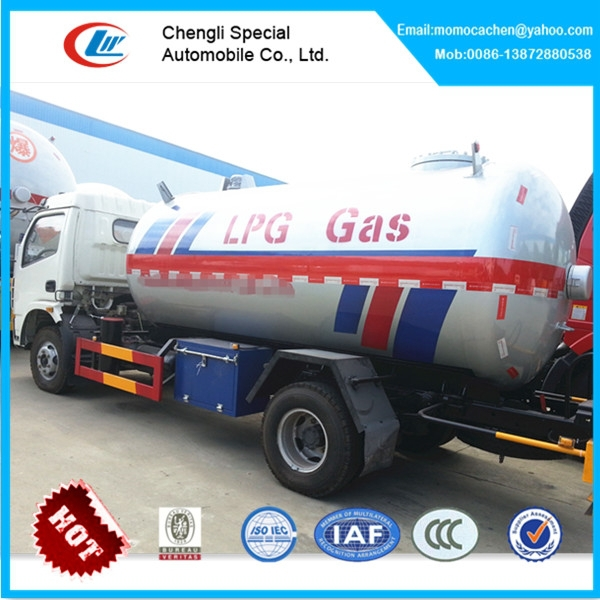 5.5cbm lpg gas truck mini right hand drive lpg tank truck bulk lpg truck for 5500L