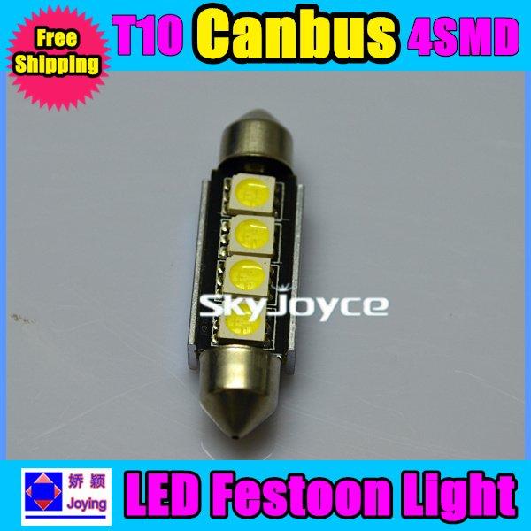 Из светодиодов canbus лёгкие 50 шт х 4SMD ошибок для роскошь автомобили BMW / AUDI багаж лампа ID225003