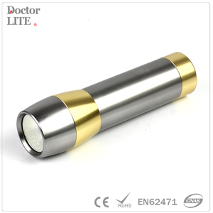Promotional portable aluminum red laser light cob led flashlight