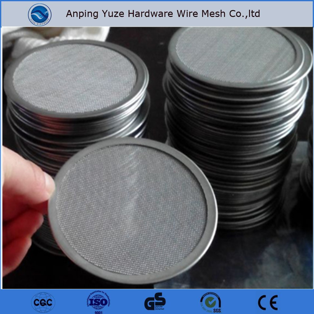 Stainless Steel Wire Mesh Round Cut Circles, Stainless Steel Wire ...