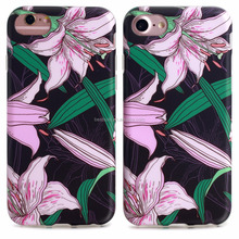 Best selling professional mobile phone case,mobile phone accessories,for iphone 7 case tpu flower