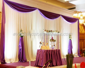 White Elegant Curtains Wedding Stage Backdrop Decoration Backdrop Curtains Buy Curtains Designswhite Curtainsindian Wedding Backdrops Product On