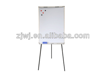 Whiteboard Magnet Tripod Easel With Flip Chart Paper