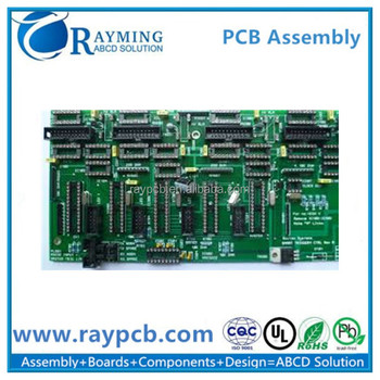 custom pcba multilayer printed circuit board assembly manufacturer