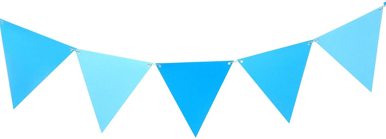 Buy WeGlow International 35PB01 Large Triangle Pennant Banner ...