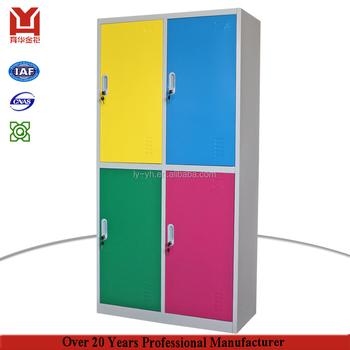 Office Furniture Vertical Godrej Almirah Design From Inside 4 Door Steel  Cabinet Metal Locker Style Furniture