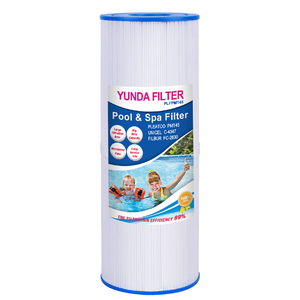 Antibacterial filter reused after washing swimming pool spa filter cartridge