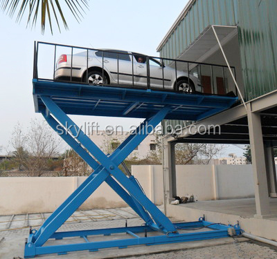 hydraulic scissor car elevating platform