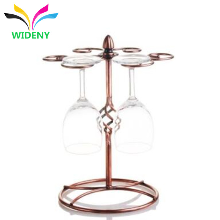 Promotion eco-friendly wine and pokal display shelf for chateau