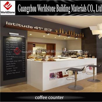 Used Coffee Bar Counter Design