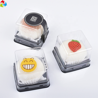 Retail Disposable Clear Blister Food Plastic Cake Packaging Box