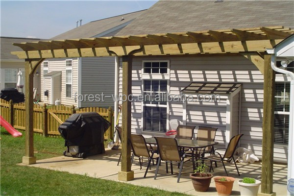 wpc platelage pergola gazebo construire un de gazebo en bois avec bois plastique composite. Black Bedroom Furniture Sets. Home Design Ideas