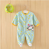 Newborn baby clothes jumpsuit climb clothes baby polar fleece baby clothes