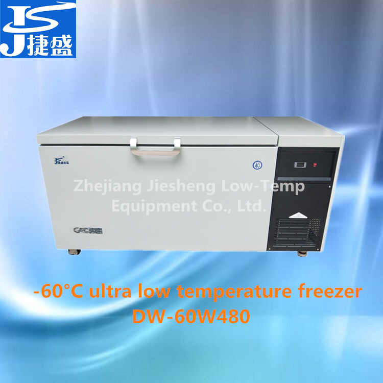 -60C degree ultra low temperature chest freezer 480L ultra cold freezer for tuna cryogenic freezer for chemical & electronic