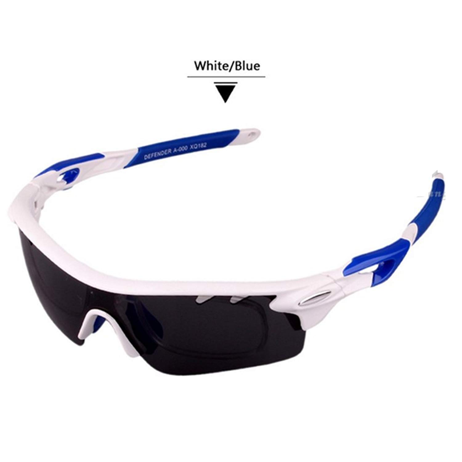 f4c9d068288 Get Quotations · Polarized Sports Men Sunglasses Road Cycling Glasses  Mountain Bike Bicycle Riding Protection Goggles Eyewear 3 Lens