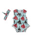 2017 Yawoo hot sale popular summer cute babies climb clothing newborn boutique outfits romper infant wholesale cheap bodysuit CN