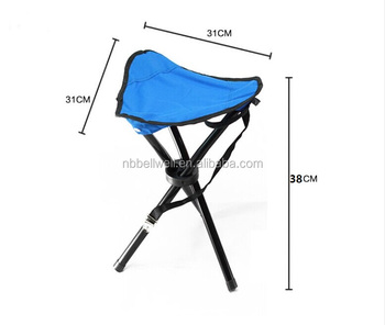 Steel Tube Cheap Wholesale Portable Folding Three Legged