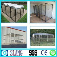 China supplier and high quality dog kennel wholesale/iron fence dog kennel