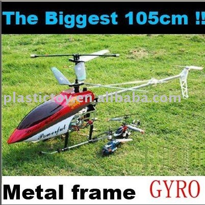 Big RC Helicopter 3.5CH Metal with Gyro 105CM RPC90428
