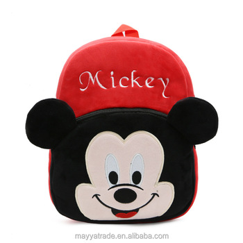 f0df3ff2210 Mickey Mouse and Friends Toddler s School Bag Lovely Cartoon Backpack Gift  for Children