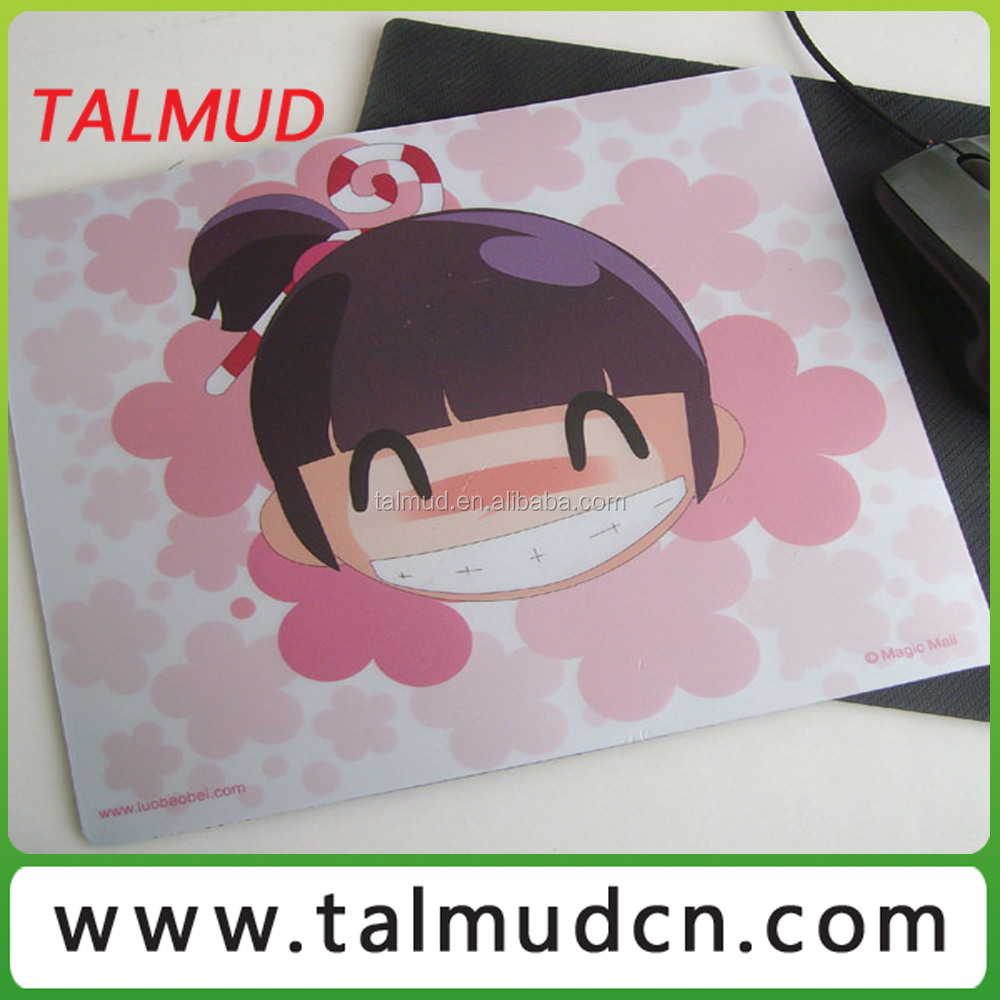 Non-toxic Anti Slip Rubber Backing mouse pad